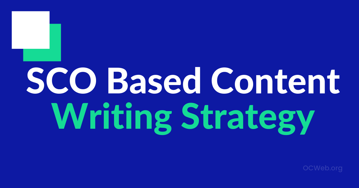 seo based content writing strategy